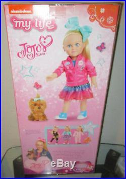 My Life Jojo Siwa Doll 18 Exclusive Plush Puppy Bow Wow Dog Dance Moms Jo Jo