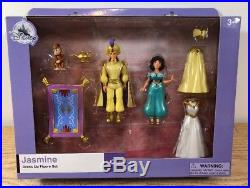NEW 7 Different Disney Princess Deluxe Magic Clip Magiclip Polly Pocket Doll Set