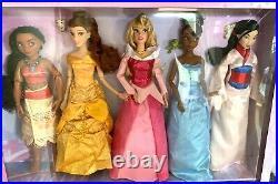 NEW COLLECTORS EDITION Disney Store Princess Gift Set x11 Dolls