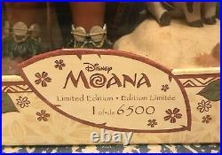 NEW Disney Moana Heirloom Doll 17 Limited Edition LE Pua Hei Hei Princess RARE