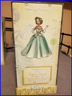 NEW Disney Princess Designer LE 10 of 4000 Tiana Doll Princess & the Frog