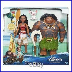NEW Disney Princess Moana Adventure Collection Dolls 13 Maui Hei Hei Pua Figure