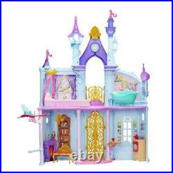 NEW Disney Princess Royal Dreams Castle 3 Feet Furnished Rooms House Elevator
