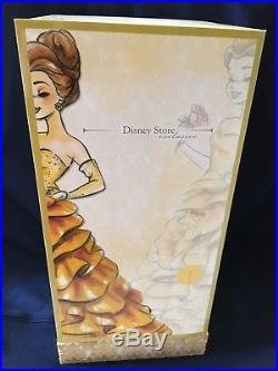 NEW Disney Store Limited Edition LE Princess Designer Belle Doll #4836