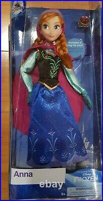 NEW Disney Store Princess 8 pc Classic Doll with Rings Collectors Set 11 1/2 Lot