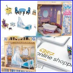 NEW KidKraft Disney Princess Cinderella Royal Dream Wooden Dollhouse Dolls House