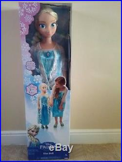 NEW Princess Elsa Life Size Doll 38 Tall Frozen My Size Huge 3 ft SELAED