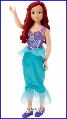 NIB DISNEY PRINCESS MY SIZE ARIEL FAIRYTALE FRIEND DOLL OVER 3 FT Little Mermaid