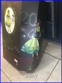 NIB Disney Designer Collection Tiana Premiere Series Doll LE 4000 Princess Frog