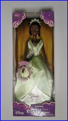 NIB NRFB Sealed Disney Store Tiana Princess & Frog Singing Doll 17