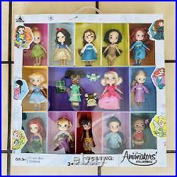 New 2019 Disney Animators Collection Mini Doll Gift Set NIB Ships Same Day