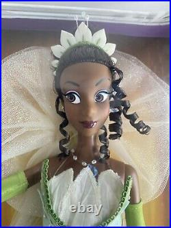New Disney Limited Edition 17 Tiana Doll The Princess and the Frog 4590 of 5000