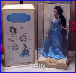 New Disney Limited Edition LE Princess Designer Jasmine Doll