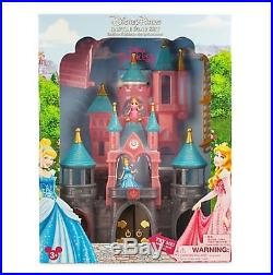 New Disney Parks Princess Castle Play Set Light Up Doll House Cinderella Aurora