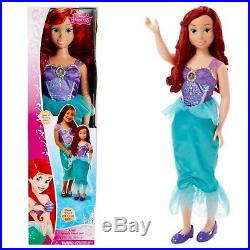 New Disney Princess Ariel Life Size NEW over 3 ft My Size Barbie Type Doll 38