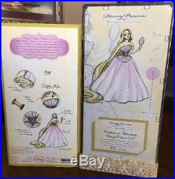 New Disney Princess Designer Collection Rapunzel Collector Doll Limited Edition
