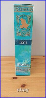 New Disney Store Ariel Singing 11 Doll Deluxe Set Princess The Little Mermaid