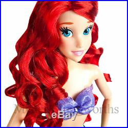 New Disney Store Deluxe Light Up Singing Princess Doll Ariel 16 Factory Sealed