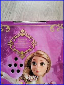 New Disney Store Deluxe Light Up Singing Princess Doll Tangled Rapunzel 16