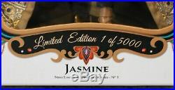 New Disney Store Princess JASMINE Aladdin Limited Edition Doll 17 LE of 5000
