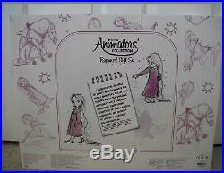 New Disney Store Rapunzel Doll Gift Set Animators' Collection Tangled Princess