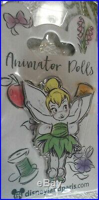 New June 2018 DLP Animator Dolls Tinkerbell Child Disney Land Paris Dlrp Pin
