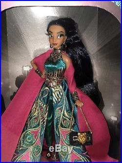 New PRINCESS JASMINE Disney Designer Collection DOLL Premiere Series