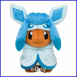 New Pokemon Plush Doll Eevee Poncho Sylveon Vaporeon Espeon Umbreon Flareon Toy