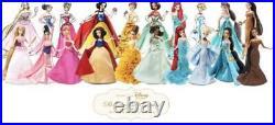 Nib Disney Fairytale Designer Collection Original 10 Dolls New