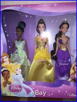 Nib Ultimate Disney Princess Collection 7 Dolls Ship Everyday