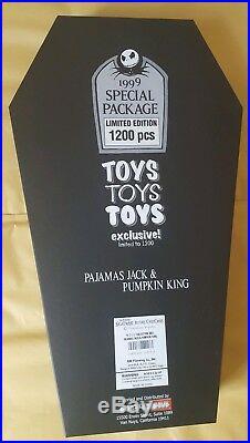 Nightmare Before Christmas. Jack dolls. Limited edition. 1999. Jun Planning