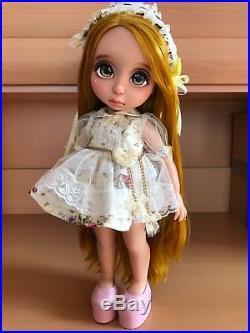 OOAK Repaint Disney Animators Rapunzel Doll Puppe mit Outfit
