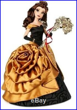 PREORDER LE Disney Store MASQUERADE BELLE LIMITED EDITION DOLL Princess Beast