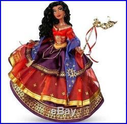 PREORDER LE Disney Store MASQUERADE ESMERALDA LIMITED EDITION DOLL Princess