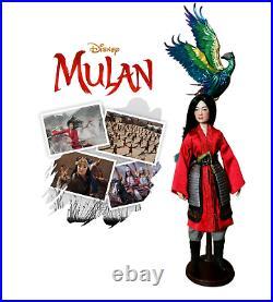 PRINCESS Mulan Live Action Limited edition LE Doll Disney Store OOAK Barbie
