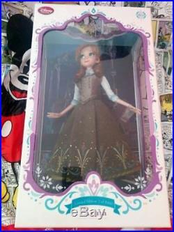 PUPPEN LIMITED DOLL POUPEE MUNECA WALT DISNEY STORE-FROZEN FRAULEN ANNA princess