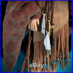 Pocahontas and John Smith Doll Set Disney Fairytale Designer Collection -NIB