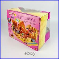Polly Pocket Snow White Seven Dwarfs House Princess Disney Playset New Rare