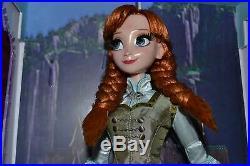 Poupée Edition Limited Disney Princesse Anna Frozen Neuve Doll Reine Neiges Doll
