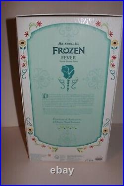 Princess Anna 17 Limited Edition Disney Store Doll Frozen Fever LE 5000 Elsa