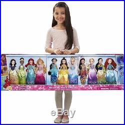 Princess Doll Set Shimmering Dreams Collection Girls Dolls 11 Pack Play Set Gift