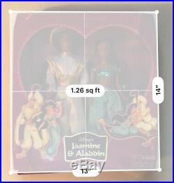 Princess Jasmine & Aladdin 12 Doll Gift Set-Special Edition Disney Parks Resort