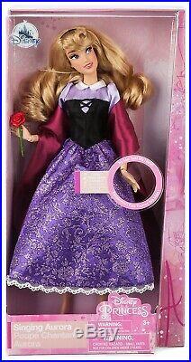 Princess Sleeping Beauty Aurora as Briar Rose Exclusive 11-Inch Singing Doll