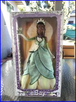 Princess and the frog Tiana 17 Disney Store Limited Edition le designer doll