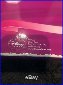 RARE DISNEY STORE princess wardrobe ARIEL 11 doll NEW IN BOX