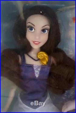 RARE Disney Store The Little Mermaid Deluxe Doll Gift Set Vanessa Triton