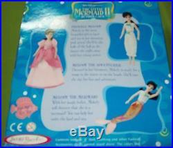RARE HTF Little Mermaid II Return To the Sea Mermaid Melody Doll MIB