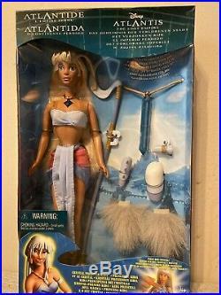 RARE Princess Kida Doll Disney The Lost Empire Atlantis Mint In Box