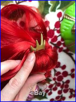 RARE Simba Little Mermaid Ariel & Seahorse Doll Set