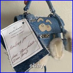 READYMADE MONSTER DOLL BAG Rare DENIM HERMES KELLY DOLL MODEL Handbag Japan